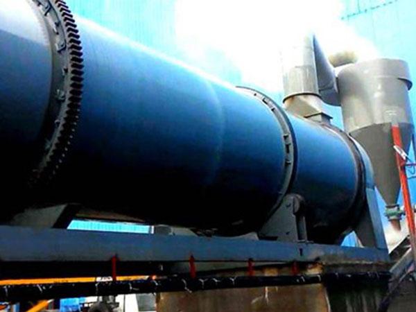 印尼矿渣烘干机年产30万吨 烘干机组案例现场