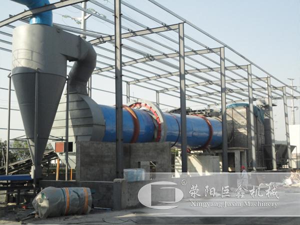 内蒙古乌海日产300吨煤泥烘干机用户案例