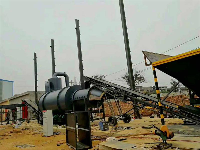 洛阳时产20-30吨河沙烘干机现场